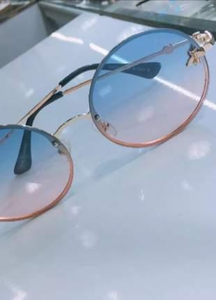 a2b66b59c Oculos redondo femininos - compre online, ótimos preços   Shafa