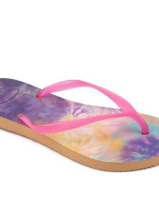 Sandália feminina chinelo havaianas slim original
