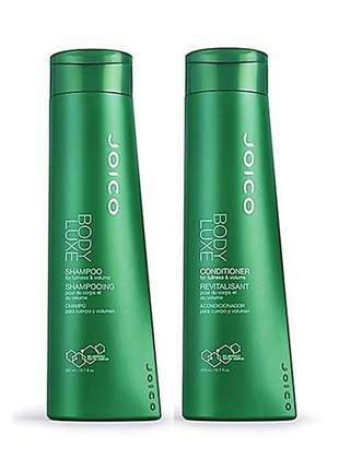 Kit joico body luxe shampoo + condicionador duo 300ml