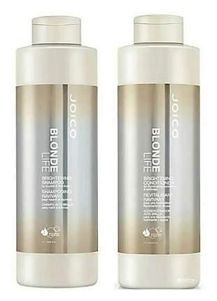 Kit joico shampoo e condicionador blonde life duo (2litros)