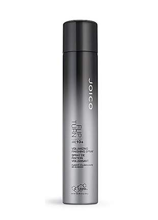 Spray de volume e fixação forte joico flip turn style & finish 300ml