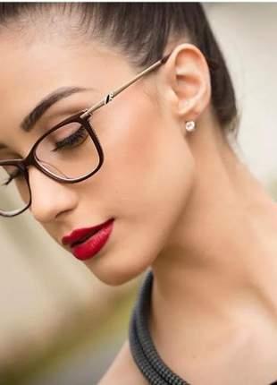 Armação óculos ogrife og 1658c feminino