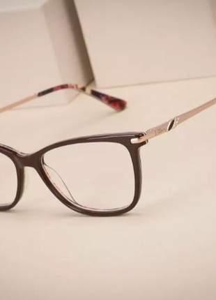 aaca8ab3d Armação óculos ogrife og 1002c feminino com lente - R$ 170.00 (de ...