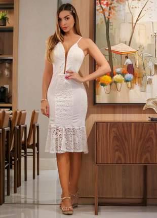 0189c25c0 Vestido branco - compre online, ótimos preços | Shafa