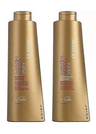 Kit joico k-pak color therapy shampoo e condicionador duo (2 litros)