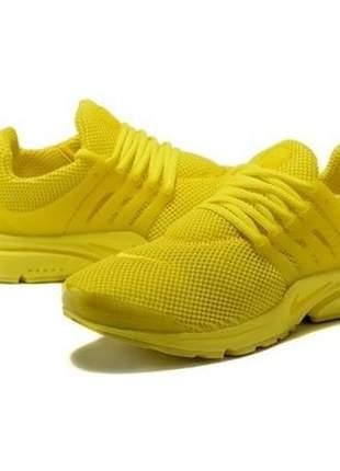Tenis masculino e feminino update amarelo
