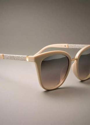 Óculos de sol feminino máscara degradê moderno espelho uv400