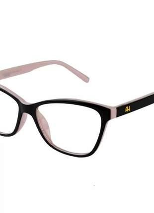Óculos armação grau feminino ana gatinho geek 6197