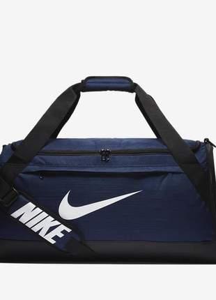 Bolsa nike brasilia duffel media azul marinho 5977