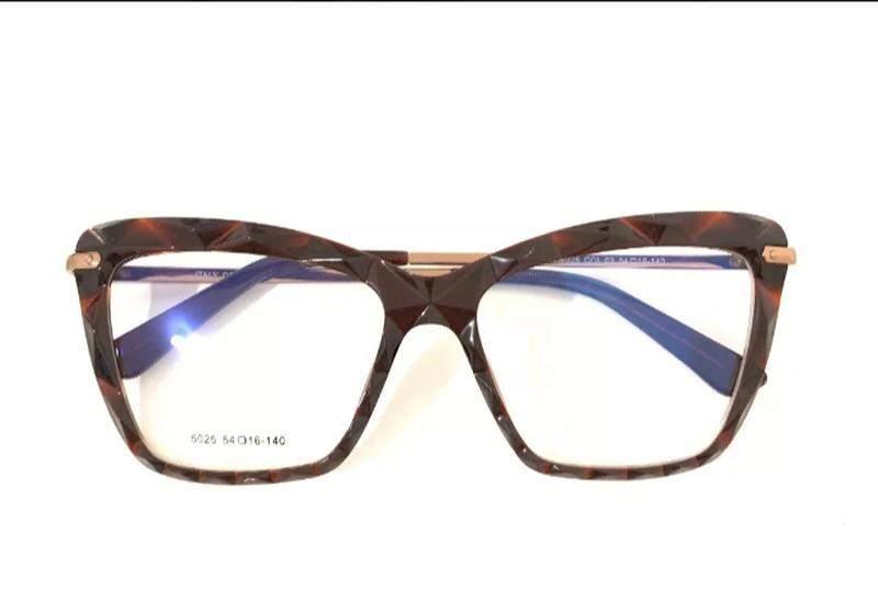 429d11f3e Armação feminino chic óculos oluxo 51 importado original - R$ 165.00 ...