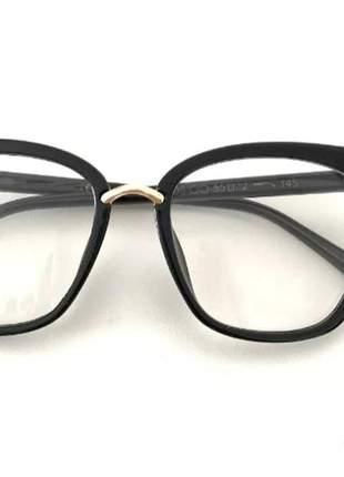 Armação óculos p/grau feminino catinho grande