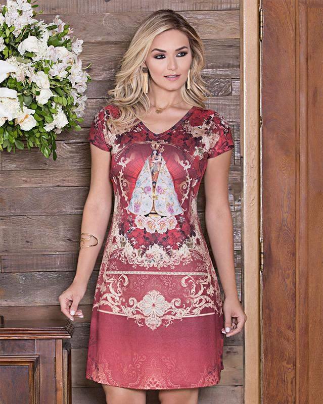 a20a56c9f487 Vestido nossa senhora de nazaré- coleção ágape - R$ 119.80 ...