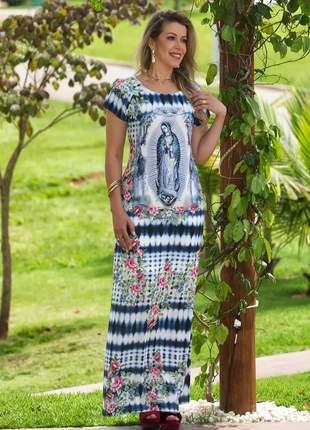 Vestido longo nossa senhora de guadalupe - coleção ágape