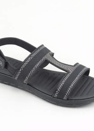Sandália grendha sense soft na cor preto