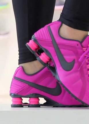 441f4aab52 Tênis nike shox feminino 4 molas pink - R$ 189.90 | SHAFA - O melhor da  moda feminina