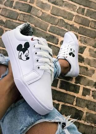 Tênis mickey mouse branco