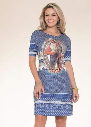 Vestido nossa senhora da conceição - coleção ágape
