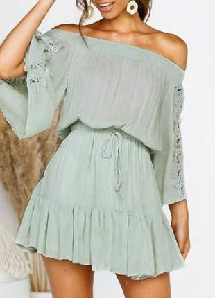 Vestido curto lorena