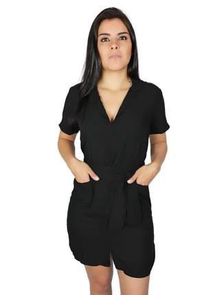 Conjunto feminina chemise com laço