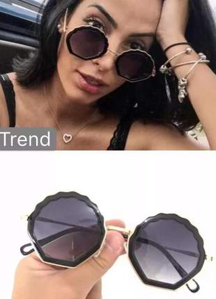 Óculos de sol tend-12 round retro