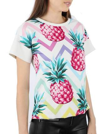 Blusa abacaxi neoprene