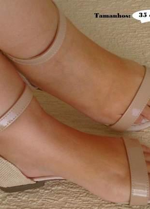 Kit 2 pares sandália rasteira flat feminina