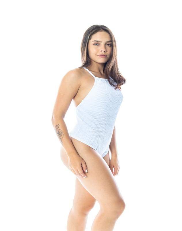 ccba0906f5 Body maio cavado branco - R  54.00 (moda fitness