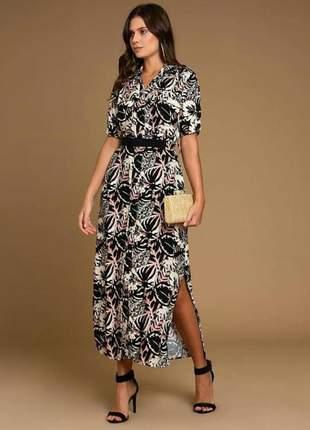 f2b9f30d747e Vestido longo viscose - compre online, ótimos preços | Shafa