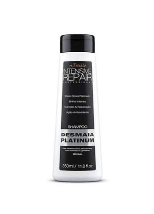 Shampoo desmaia platinum 350ml