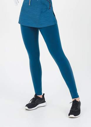 Legging alto giro supplex termo verde force