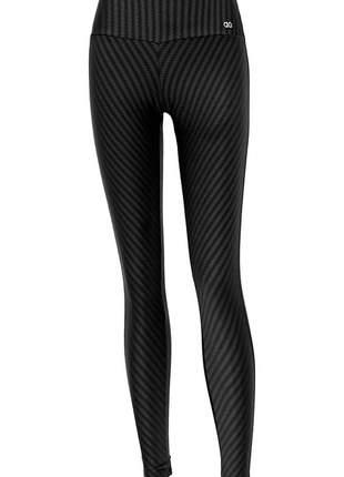 Legging alto giro ikat termo preto