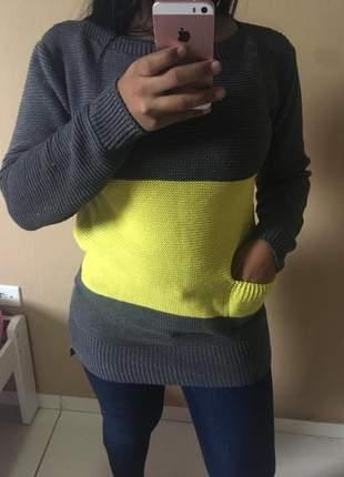 Blusa de frio em trico ref 171