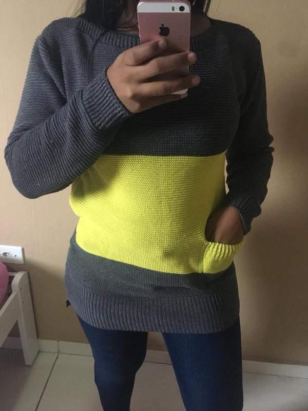 16e706b62 Blusa de frio em trico ref 171 - R$ 55.00 #23733, compre agora | Shafa