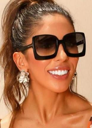 Óculos para viajar lente grande feminino chique modelo novo