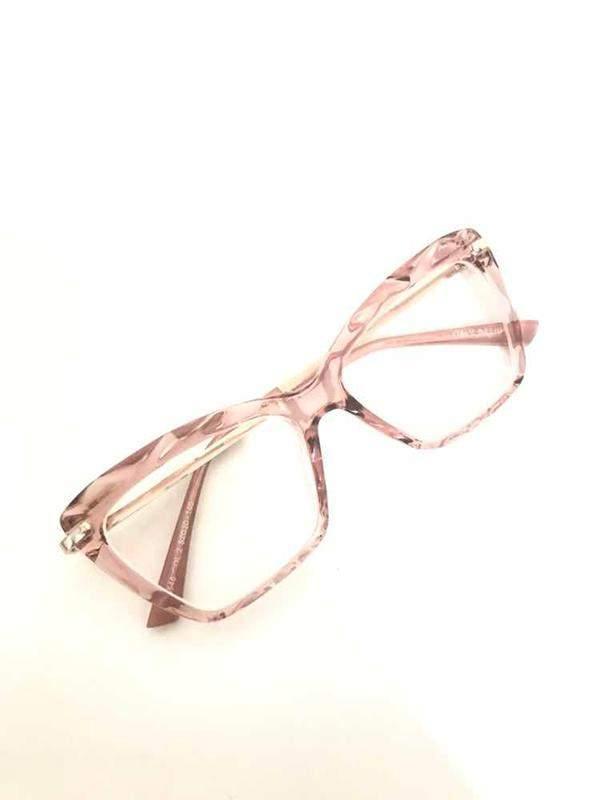 78be66065 Armação óculos grau feminino gatinho 5025 diamante rosa - R$ 179.99 ...