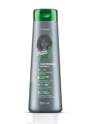 Shampoo mais q onda cacheadas triskle 350ml