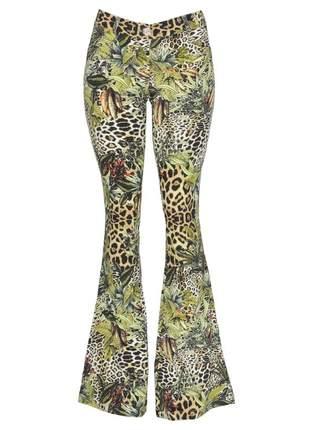 Calça infinity fashion flare selva