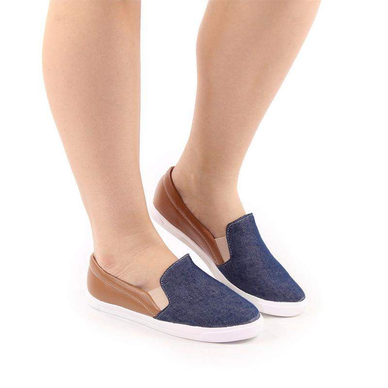 f8c47a17a Tênis slip on sapatilhas femininas - R$ 54.90 #23987, compre agora ...