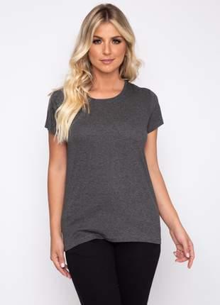Camiseta recorte ombro 1012