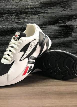 Tênis fila mindblower branco/turquesa