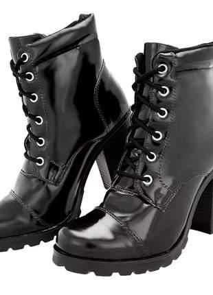 d4eaee6bc Bota coturno feminina - compre online, ótimos preços | Shafa