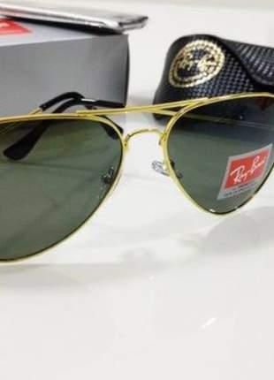 Oculos de sol ray ban modelo aviador.