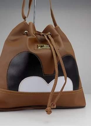 Bolsa saco do mickey