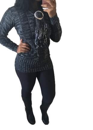 Blusa de frio tricot trico cacharrel