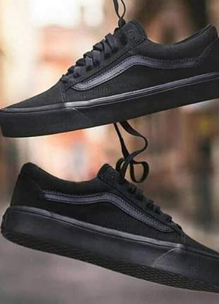 Vans old skool todo preto