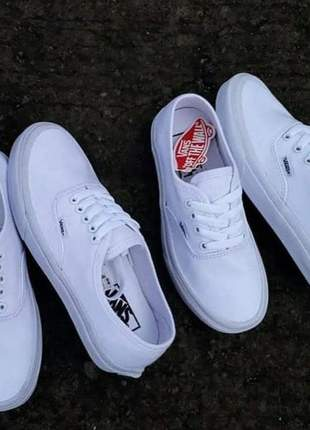 Vans authentic branco