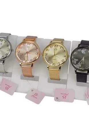 Kit com 4 relógios feminino maria
