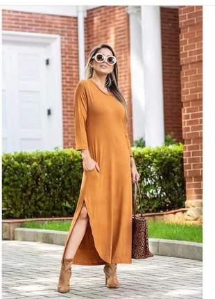 Vestido viscolycra  conforto e estilo