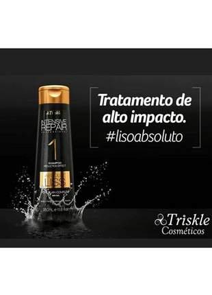 Shampoo absolut liss triskle 350ml