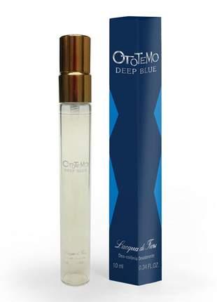Ototemo deep blue deo-colônia 10ml seu perfume  de bolsa